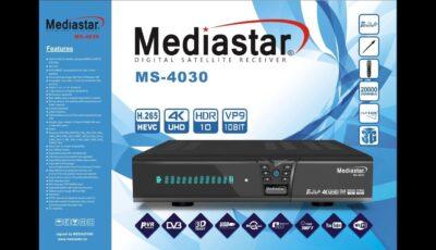 سعر ومواصفات رسيفر ميديا ستار 4030 MediaStar + ملف قنوات
