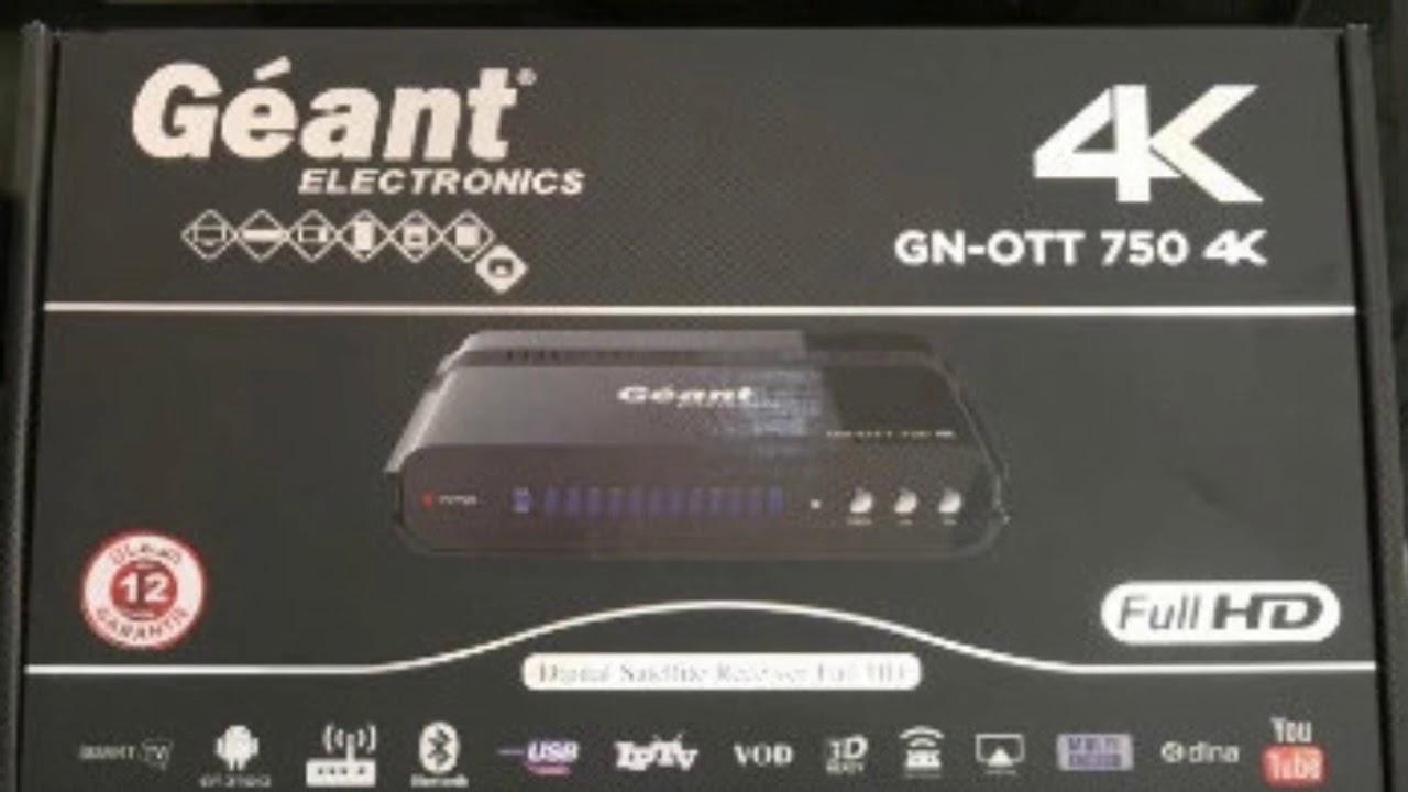 Geant 750 4k