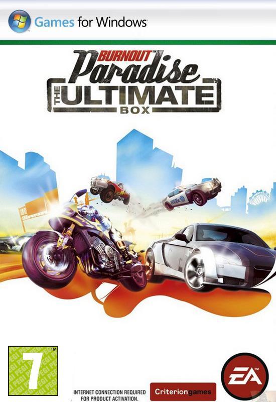 تحميل افضل لعبة سباق Burnout Paradise The Ultimate Box تورنت