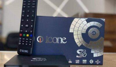 سعر ومواصفات رسيفر ايكون اس 4 Icone S4 عملاق جديد على الطريق